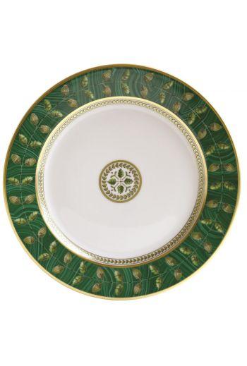 "CONSTANCE MALACHITE salad plate 8.5"""