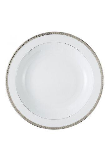 "ATHENA PLATINE Deep round dish 11.5"""