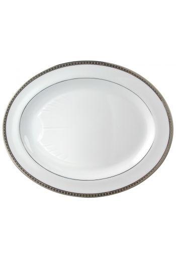 """ATHENA PLATINE Oval platter 15"""""""