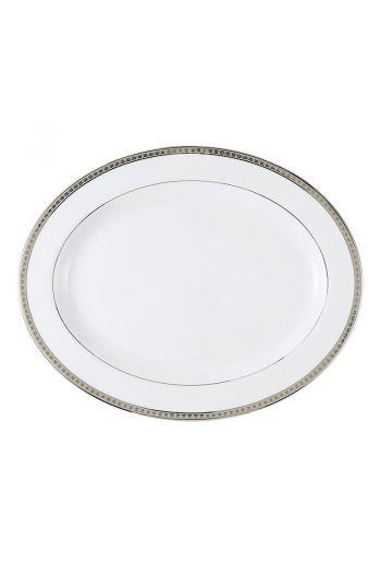 """ATHENA PLATINE Oval platter 13"""""""