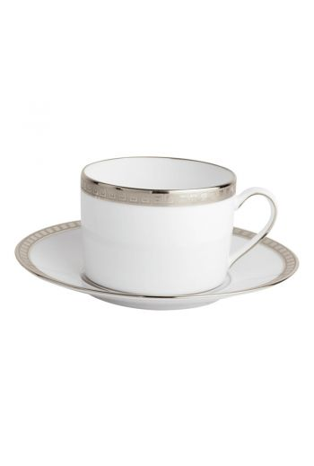 ATHENA PLATINE Breakfast cup & saucer