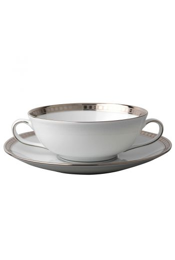 """ATHENA PLATINE Soup bowl 4.3"""""""