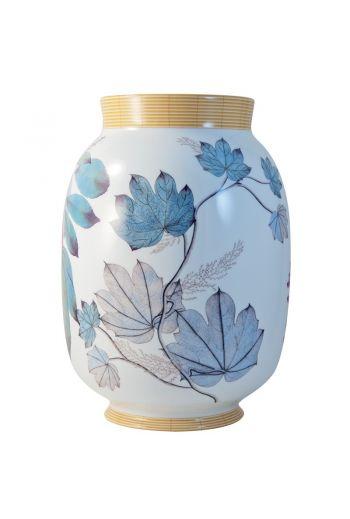 "JARDIN INDIEN Toscan vase 13.6"""
