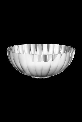 Georg Jensen Bernadotte Bowl, Medium  - H: 2.95 inches. Ø: 6.89 inches.
