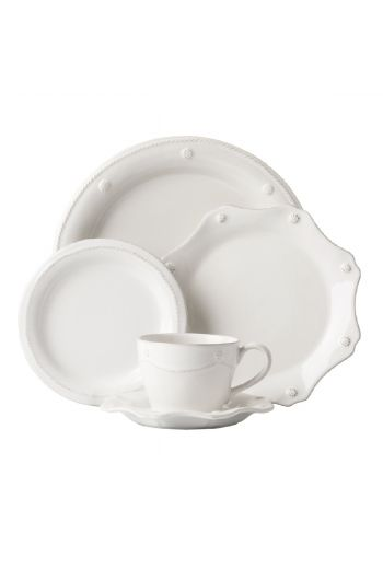 Juliska Berry & Thread Whitewash 5 Pc Place Setting