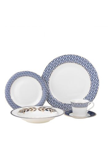 Joseph Sedgh Brooklyn 20 Piece Bone China Dinnerware Set - Service for 4