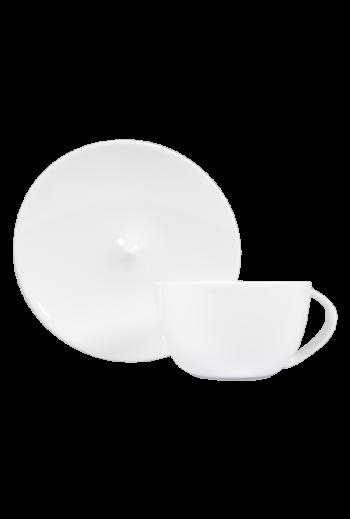 Bernardaud Bulle Tea Cup & Saucer - Holds 7 oz
