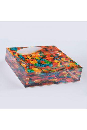 """by robynblair Cub Love Candy Dish  - 6""""x 6""""x 1.5"""""""