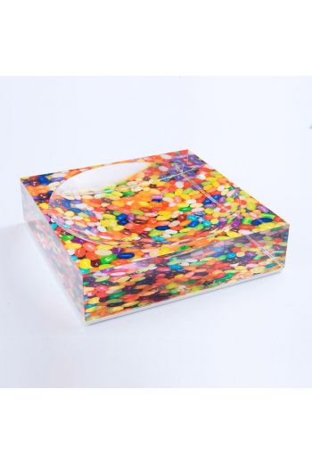"""by robynblair Don't Be Jelly Candy Dish  - 6""""x 6""""x 1.5"""""""