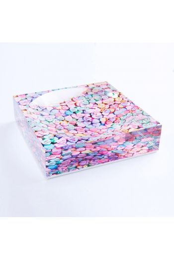"by robynblair Perfectly Pastel Candy Dish  - 6""x 6""x 1.5"""