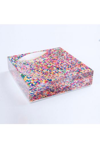 "by robynblair Sassy Sprinkles Candy Dish  - 6""x 6""x 1.5"""