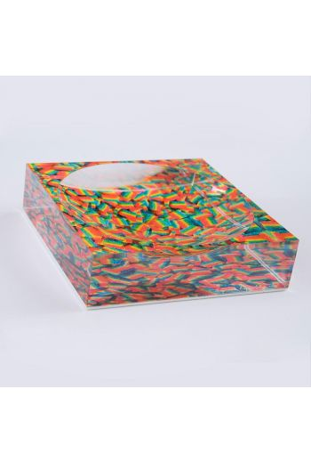 """by robynblair Sour Power Candy Dish  - 6""""x 6""""x 1.5"""""""