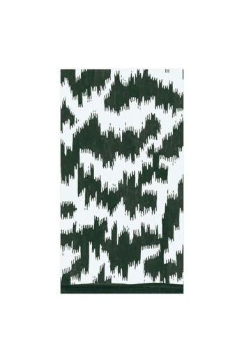 Caspari Modern Moire Black Paper Guest Towels - 15 per pack