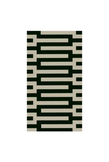 Caspari Zipper Black Paper Guest Towels - 15 per pack
