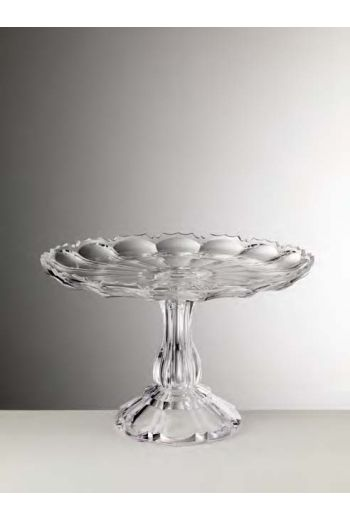 Mario Luca Girasole Cake Plate Clear