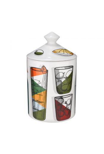 Fornasetti Cocktail Candle, Otto - 300g