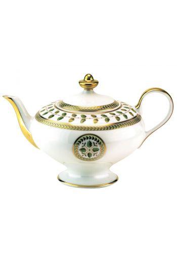 Bernardaud Constance Rouge Teapot - Holds 25½ oz