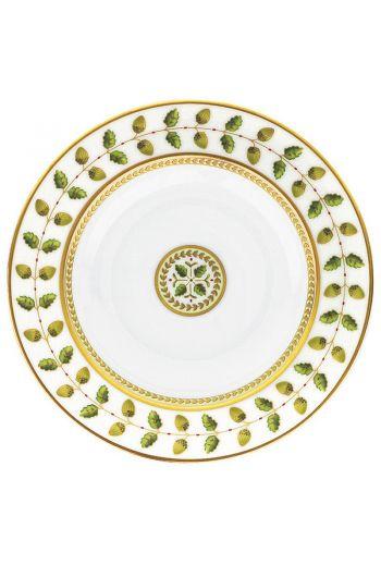 """Bernardaud Constance Rouge Rim Soup Bowl - 9"""" d"""