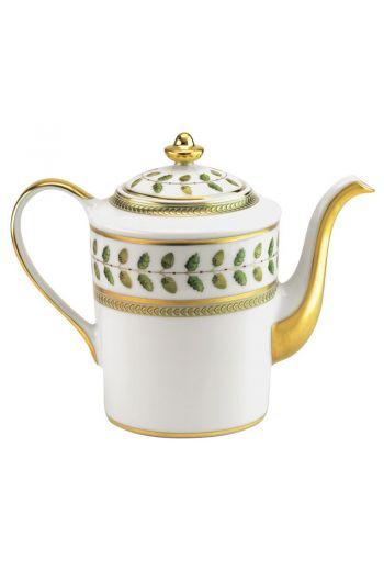 Bernardaud Constance Rouge Coffee Pot -  Holds 34 oz