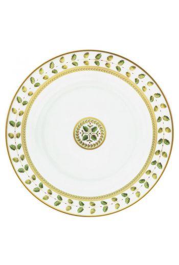 "Bernardaud Constance Rouge Open Vegetable Bowl - Measures 9½"" d   Holds 27 oz"