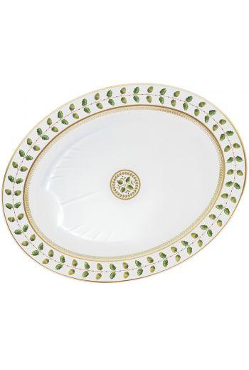 """Bernardaud Constance Oval Platter 17"""""""