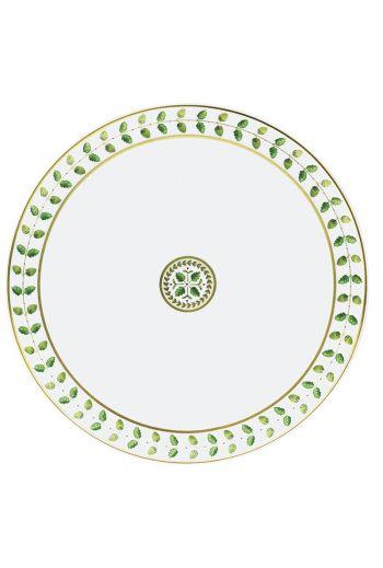"""Bernardaud Constance Rouge Round Tart Platter - 13"""" d"""