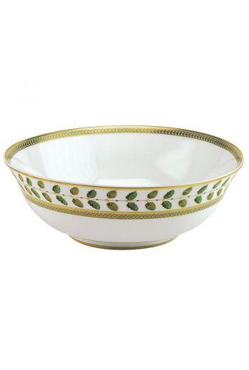 "Bernardaud Constance Rouge Salad Bowl - 10"" d   Holds 57 oz"