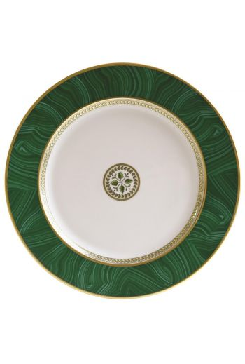 "Bernardaud Constance Malachite Charger / Service Plate - 11½"" d"