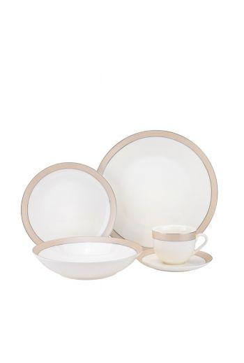 Joseph Sedgh Downtown 20 Piece Bone China Dinnerware Set - Service for 4