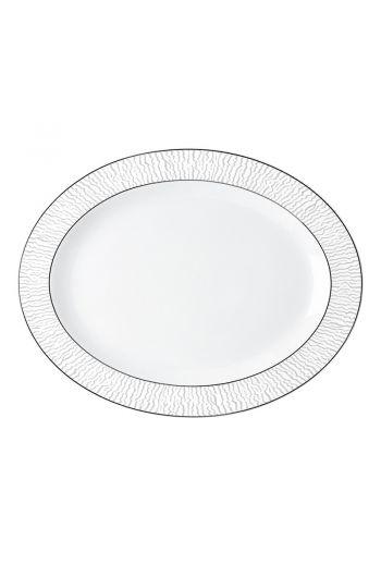 """Bernardaud Dune Oval Platter - 13"""""""