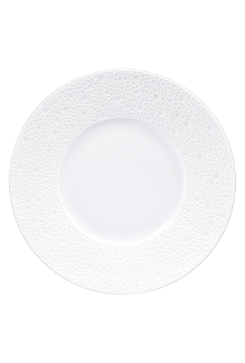 Bernardaud Ecume White Bread and Butter 6.3""