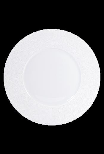 """Bernardaud  Ecume White Dinner Plate 10.5"""""""