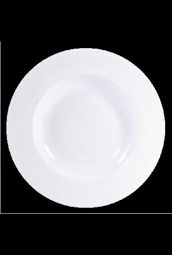Bernardaud Ecume White Charger/Service Soup Bowl
