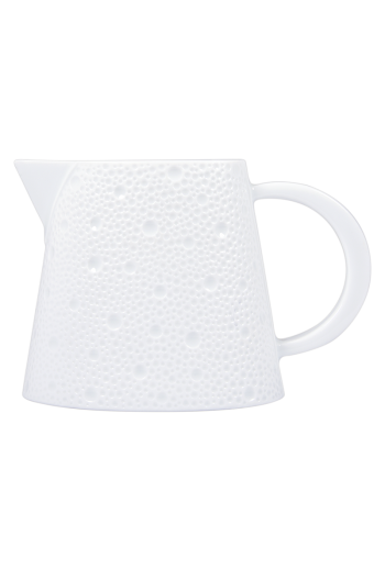 Bernardaud Ecume White Creamer - 8.5 ounces