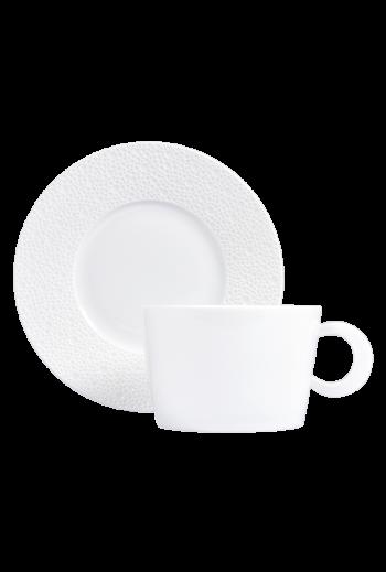 Bernardaud Ecume White Breakfast Cup