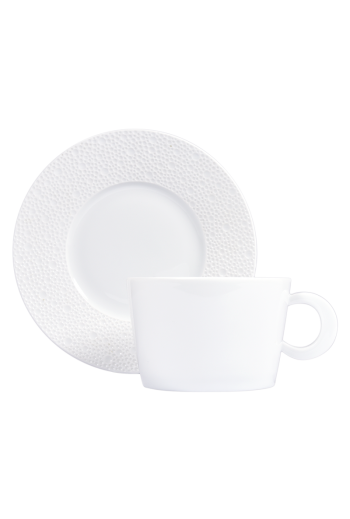 Bernardaud Ecume White Tea Saucer