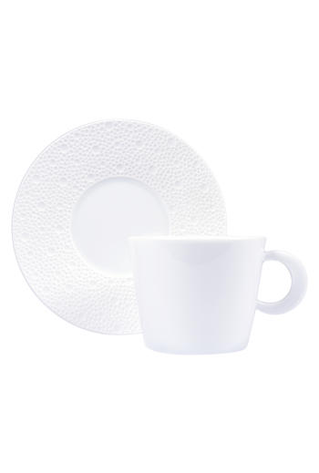 Bernardaud Ecume White Breakfast Saucer
