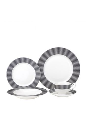 Joseph Sedgh Edina 20 Piece Bone China Dinnerware Set - Service for 4