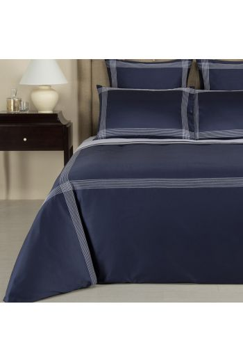 FRETTE Porto Queen Sheet Set (1 Queen Flat 95x120, 1 Queen Fitted 61x81+15, 2 Standard Pillowcases 20x32) - Available in 7 Colors