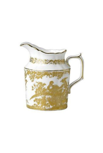 Royal Crown Derby Aves - Gold Creamer Jug