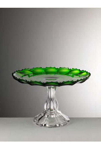 Mario Luca Girasole Cake Plate Green