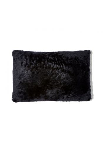 "Grenn Pilot Black Lumbar Pillow - 20"" x 14"""