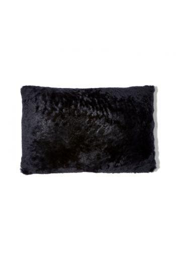 "Grenn Pilot Black Lumbar Pillow - 20"" x 14"""