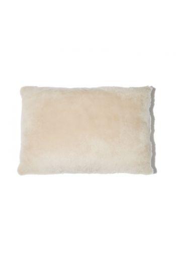 """Grenn Pilot Ecru Lumbar Pillow - 20"""" x 14"""""""