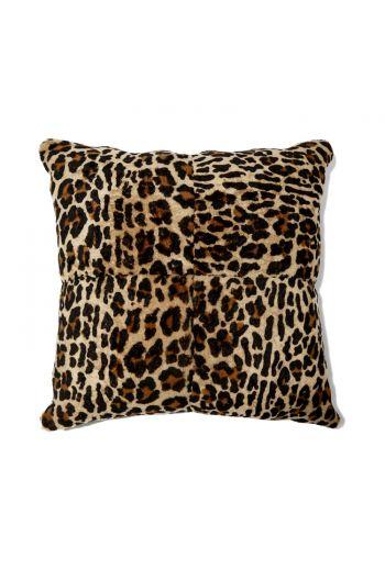 "Grenn Pilot Leopard Square Pillow - 20"" x 20"""