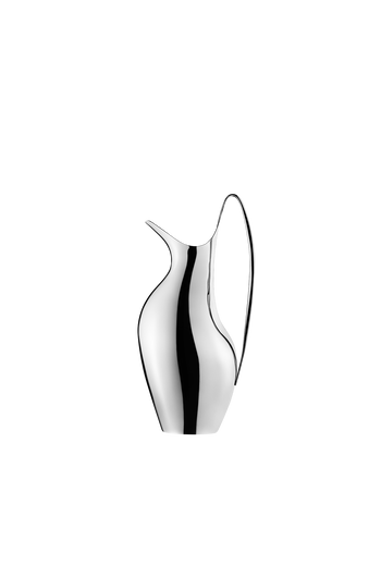 Georg Jensen HK Pitcher 0.75 L Mirror Polished Stainless Steel - H: 9.76 inches. V: 0.75 L.