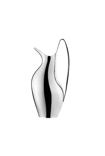 Georg Jensen HK Pitcher 1.9 L Mirror Polished Stainless Steel - H: 13.19 inches. W: 6.1 inches. D: 4.72 inches.