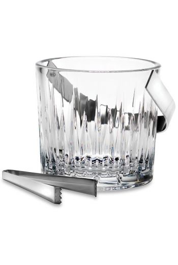 Reed & Barton Soho Crystal Ice Bucket