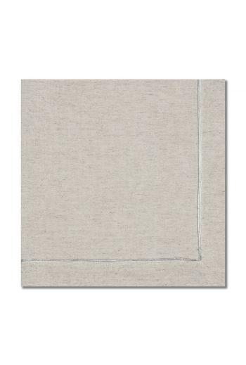 Textured Silver Line Napkin
