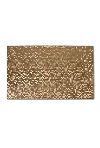 Gold Rectangular Dots Placemat